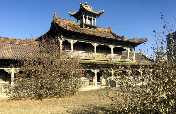One of the temples at Bogd Khan's winter palace