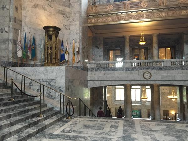 Legislative Building, view from the rotunda