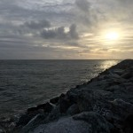 Sunset from the North Jetty