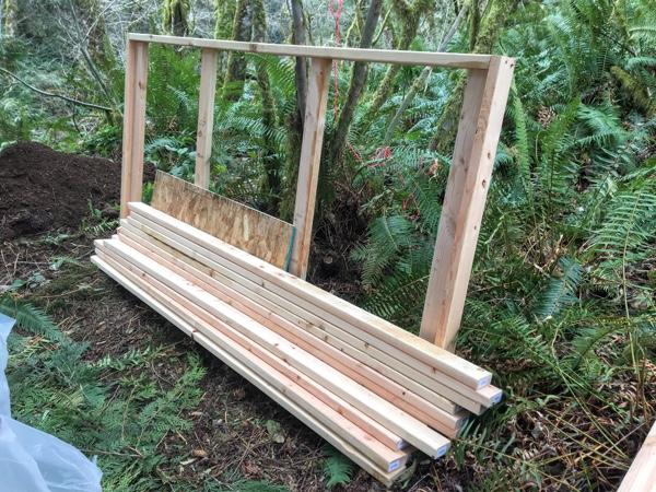 Front deck frame
